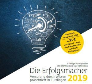 Sprecherhaus | Die Erfolgsmacher 2019 Tuttlingen