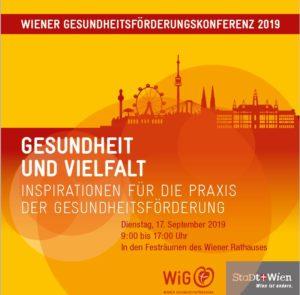 Programm Wiener Gesundheitsförderungskonferenz 2019